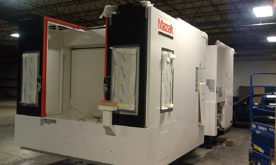 Mazak HCN 8800-II Nexus View - Global Precision Group